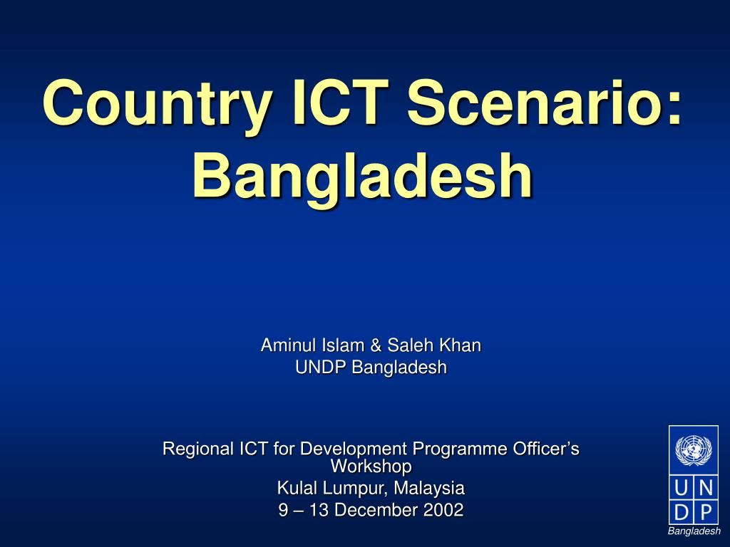 Country ICT Scenario: