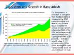 corruption and growth in bangladesh