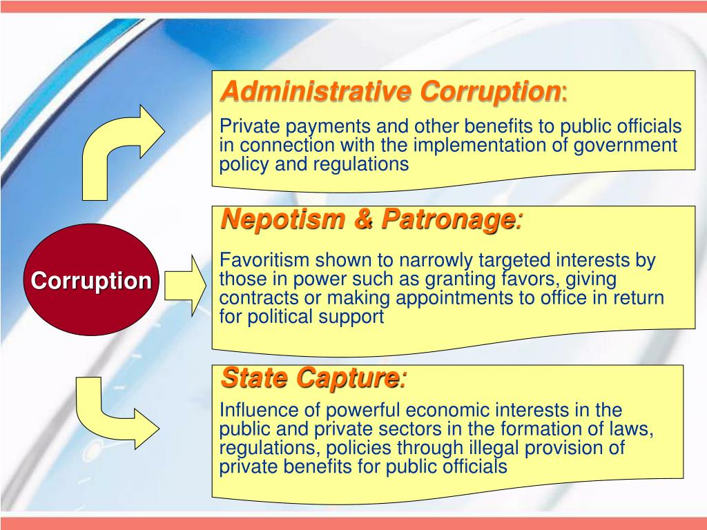 Administrative Corruption