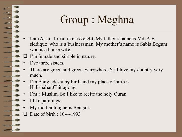 Group meghna