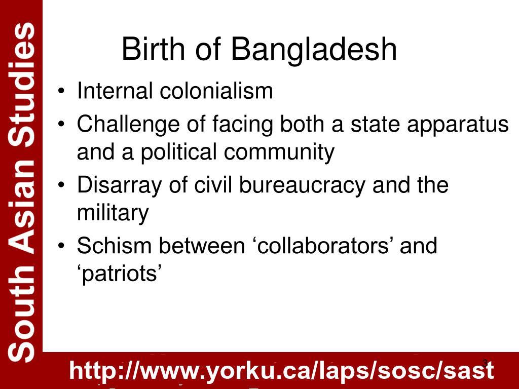 Birth of Bangladesh