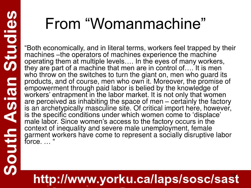 "From ""Womanmachine"""