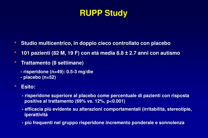 RUPP Study