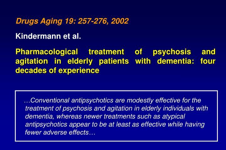 Drugs Aging 19: 257-276, 2002