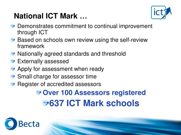 National ICT Mark …
