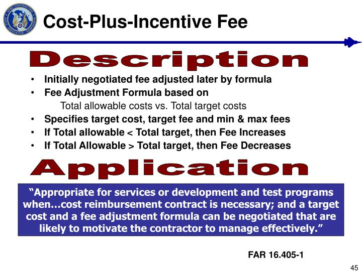 Ppt contract types powerpoint presentation id 1092675 for Cost plus contract example