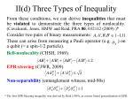 ii d three types of inequality