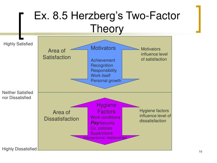Ex. 8.5 Herzberg's Two-Factor Theory