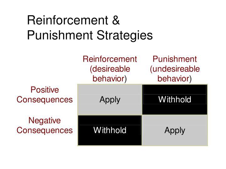Reinforcement &