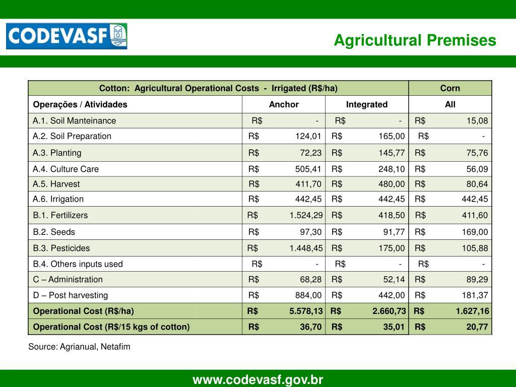 Agricultural Premises