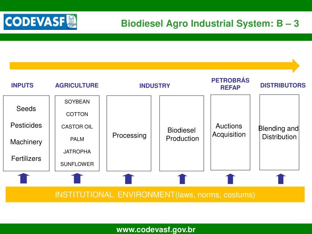 Biodiesel Agro Industrial System