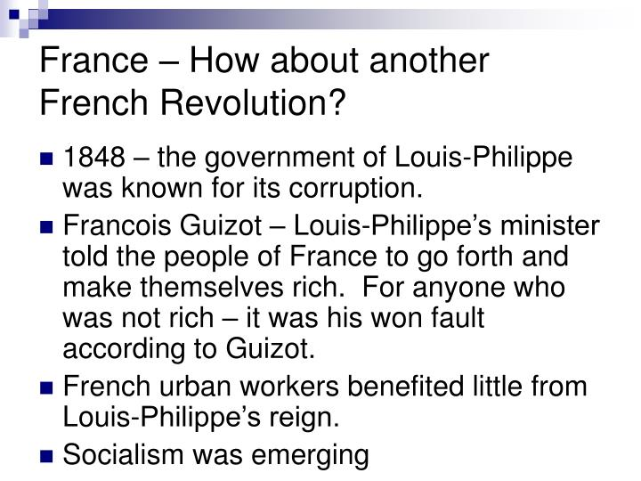 France how about another french revolution