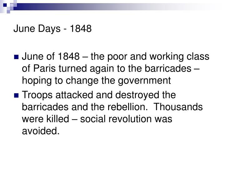 June Days - 1848