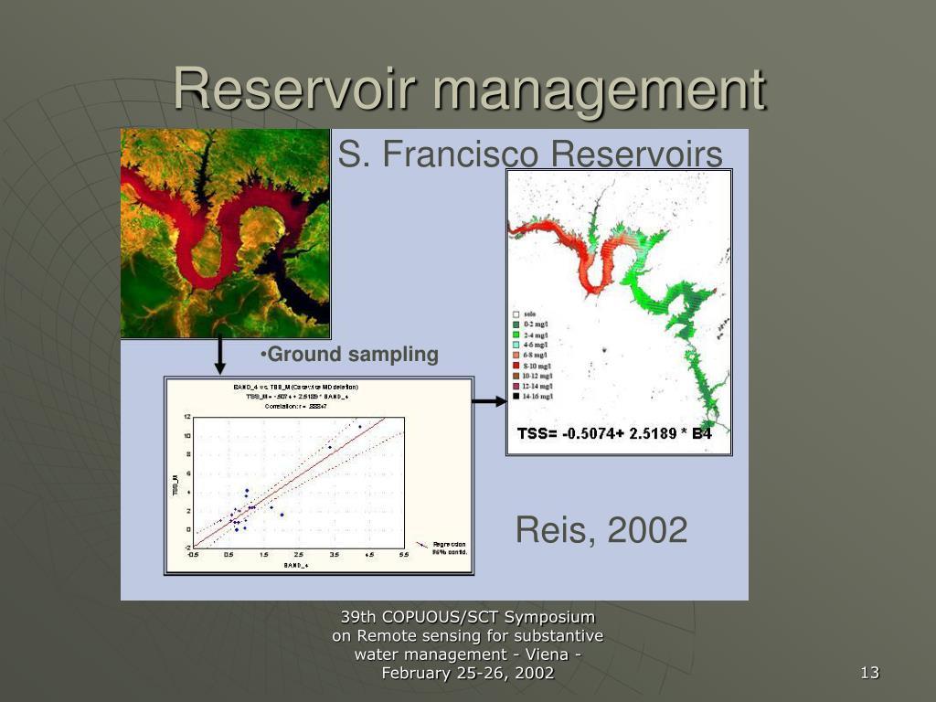 Reservoir management