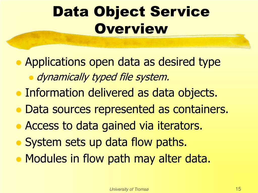Data Object Service