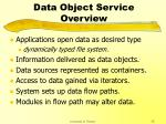 data object service overview