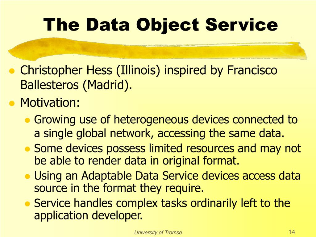 The Data Object Service