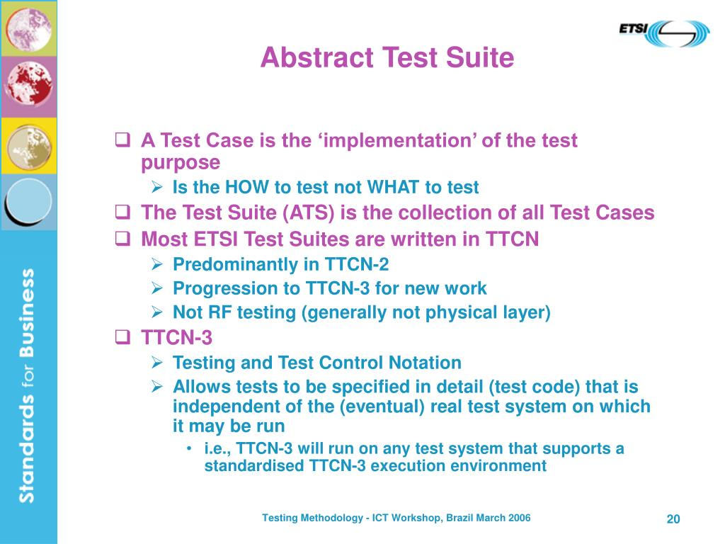 Abstract Test Suite