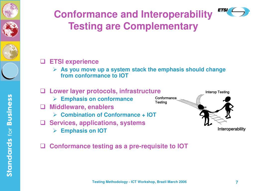 Interop Testing