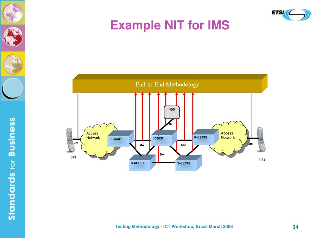 Example NIT for IMS