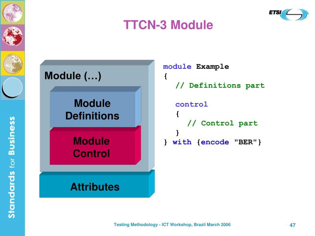 Module Definitions