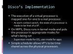 disco s implementation1