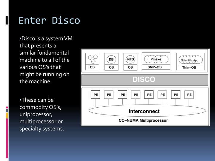 Enter Disco