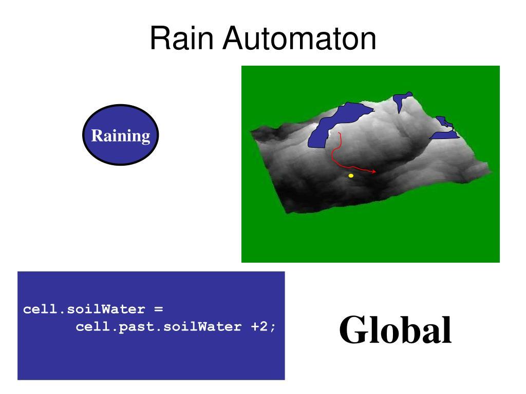 Rain Automaton