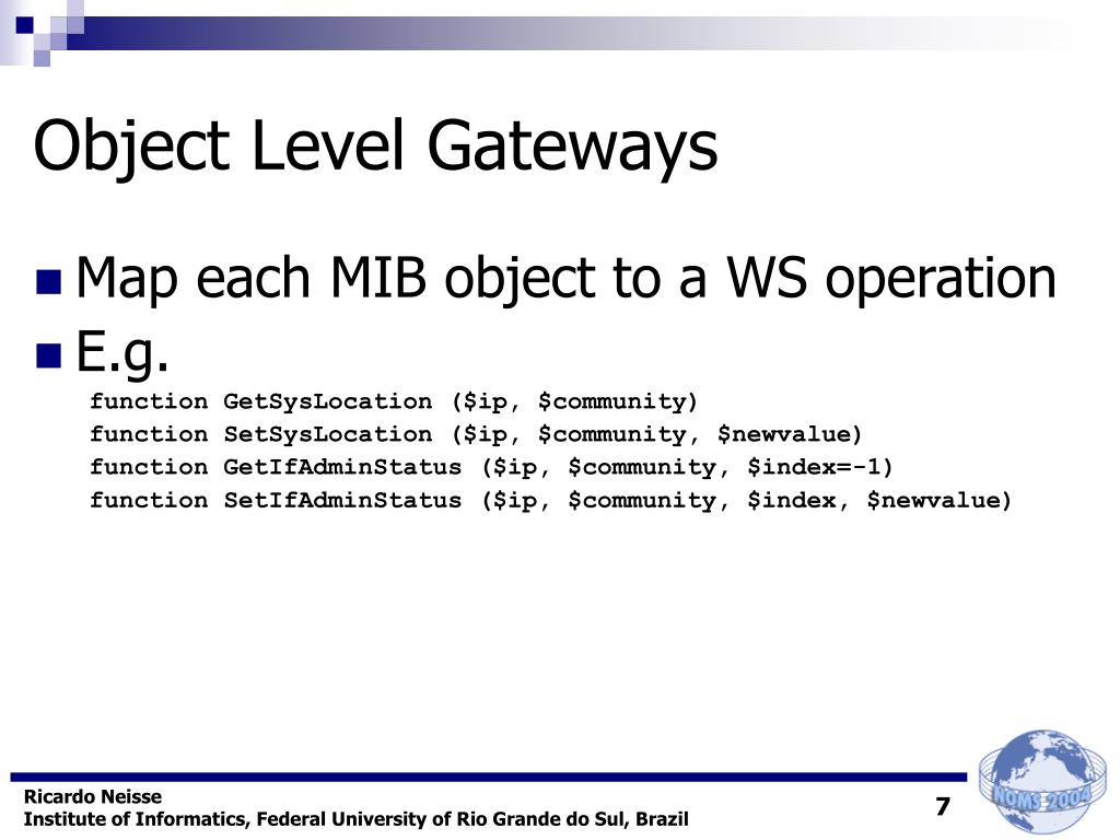 Object Level Gateways