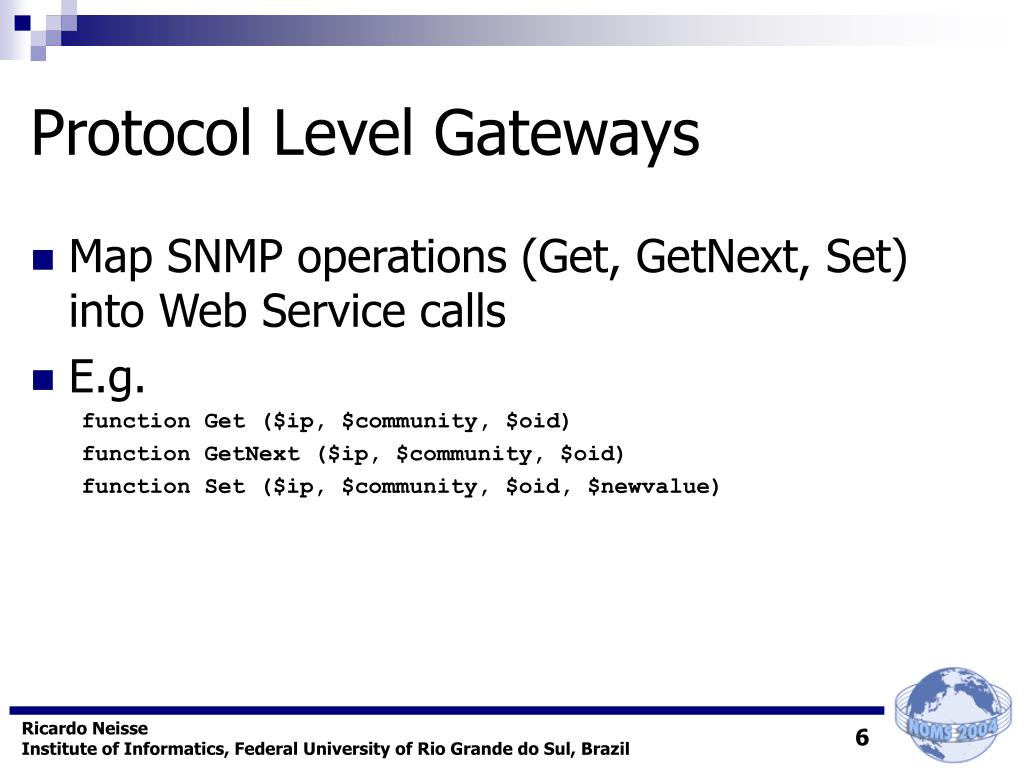 Protocol Level Gateways
