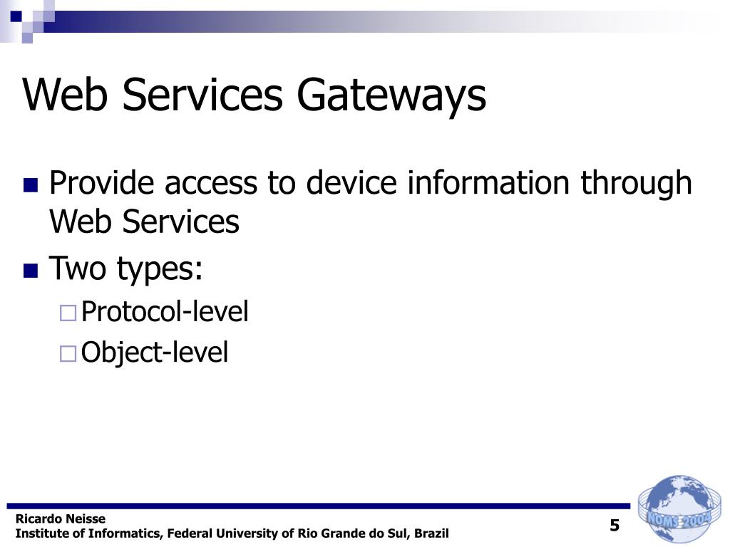 Web Services Gateways