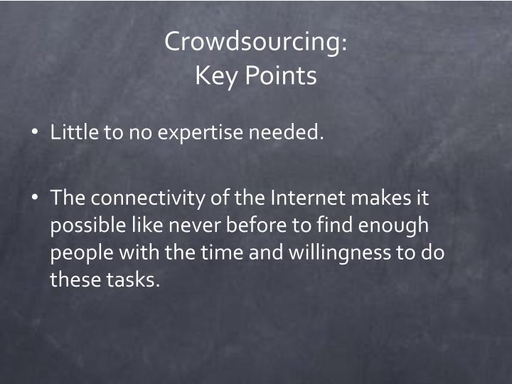 Crowdsourcing:
