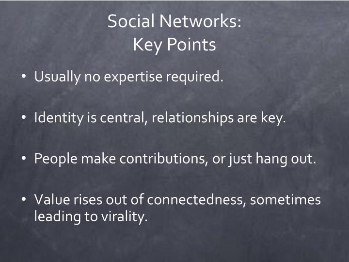 Social Networks:
