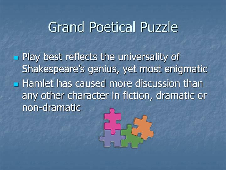 Grand poetical puzzle
