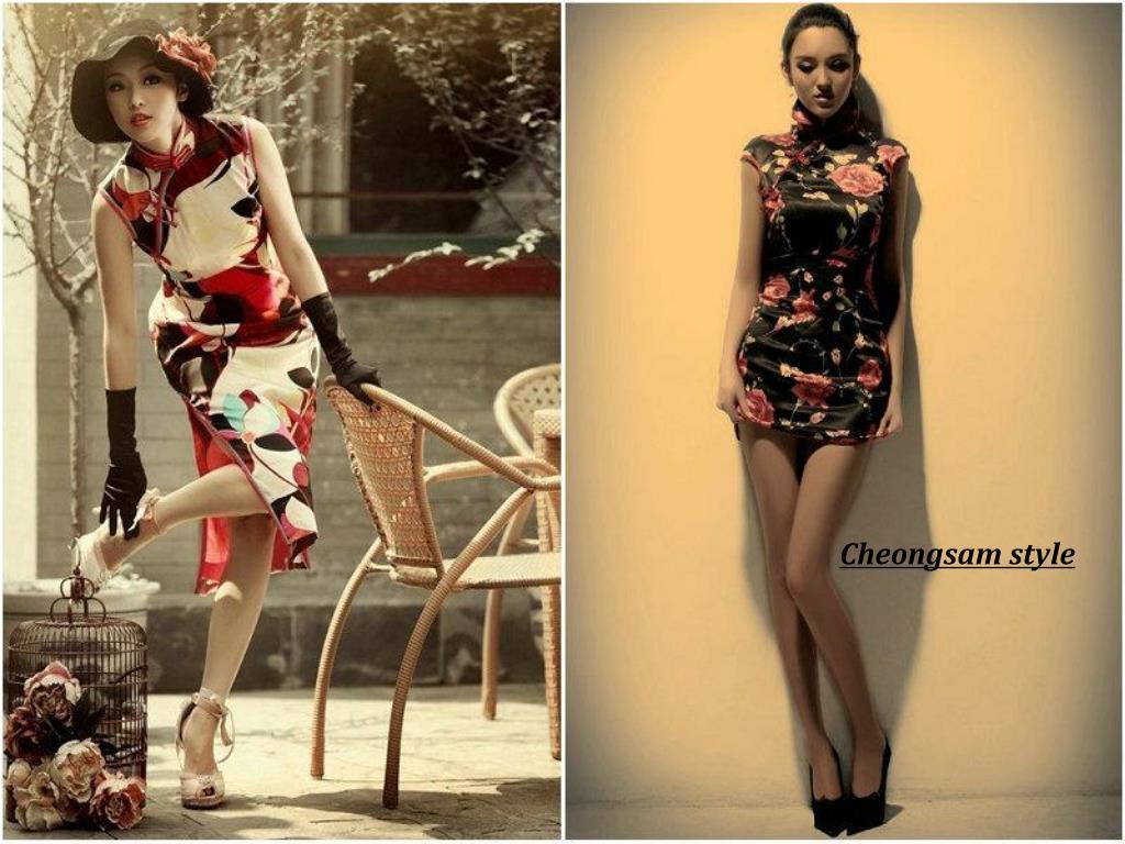 Cheongsam style