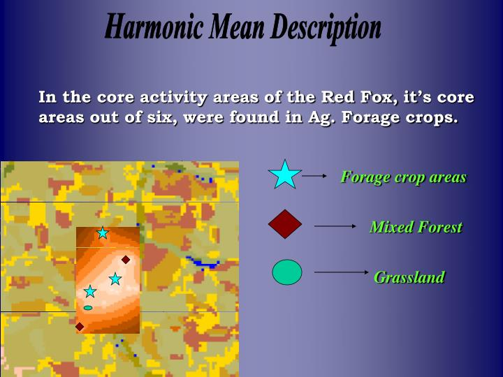 Harmonic Mean Description