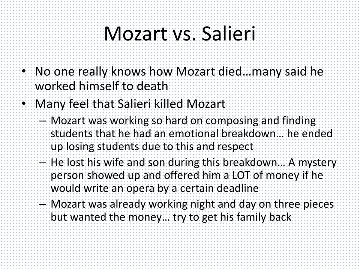 Mozart vs.