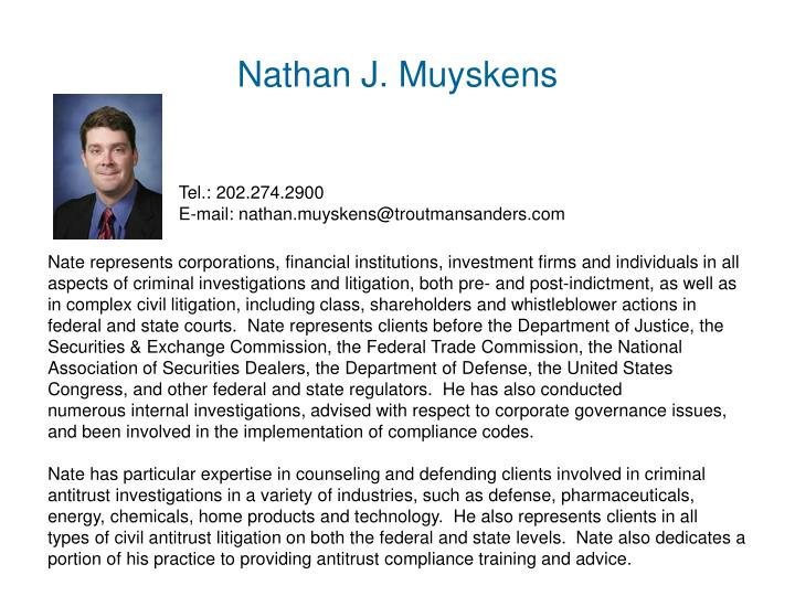 Nathan J. Muyskens