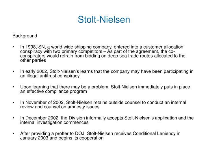 Stolt-Nielsen