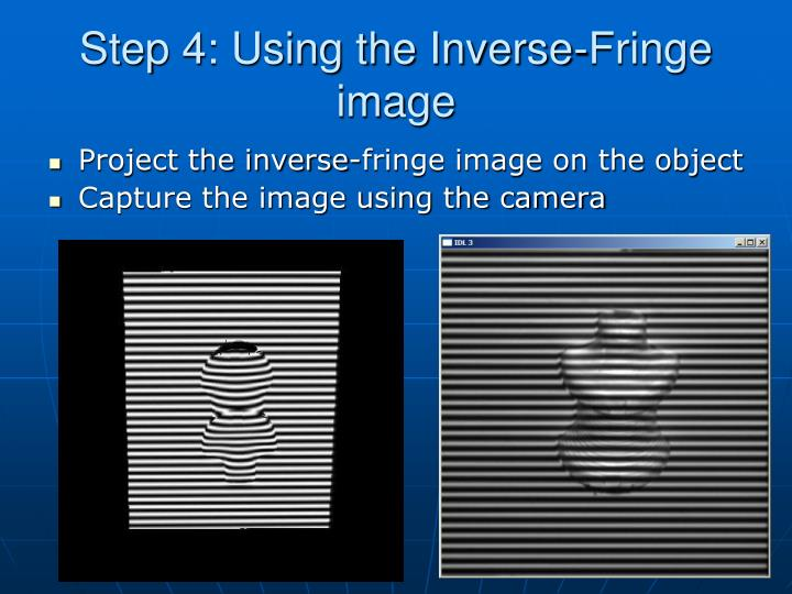 Step 4: Using the Inverse-Fringe image