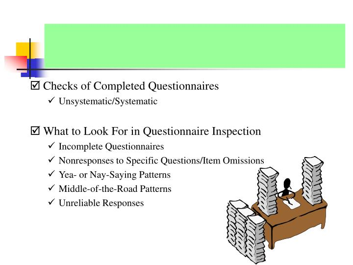 PRELIMINARY QUESTIONNAIRE SCREENING