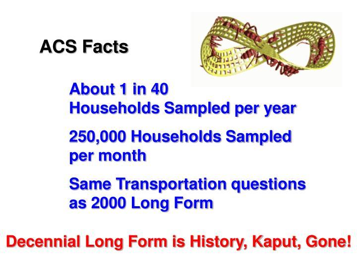 ACS Facts