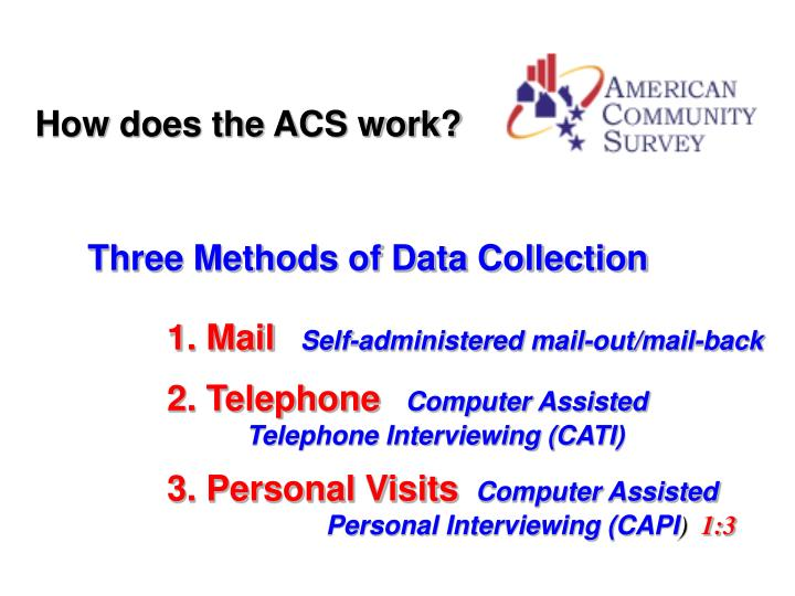 How does the ACS work?