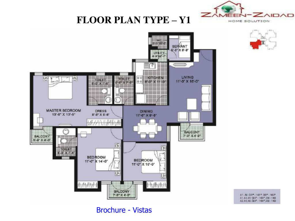 FLOOR PLAN TYPE – Y1