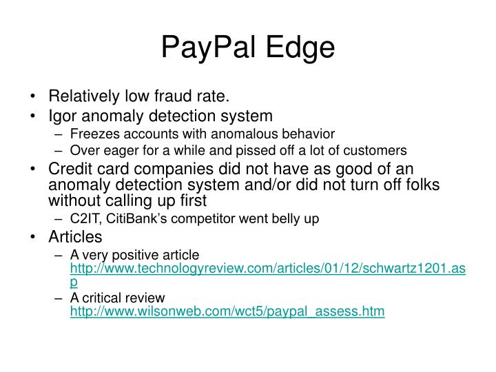 PayPal Edge