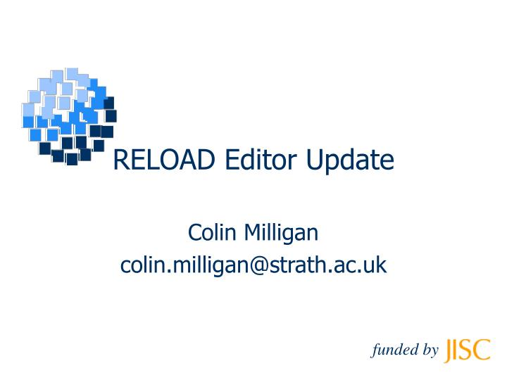 Reload editor update
