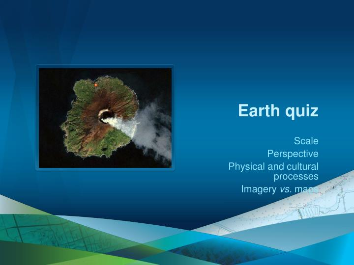 Earth quiz