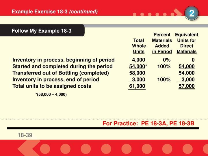 Follow My Example 18-3