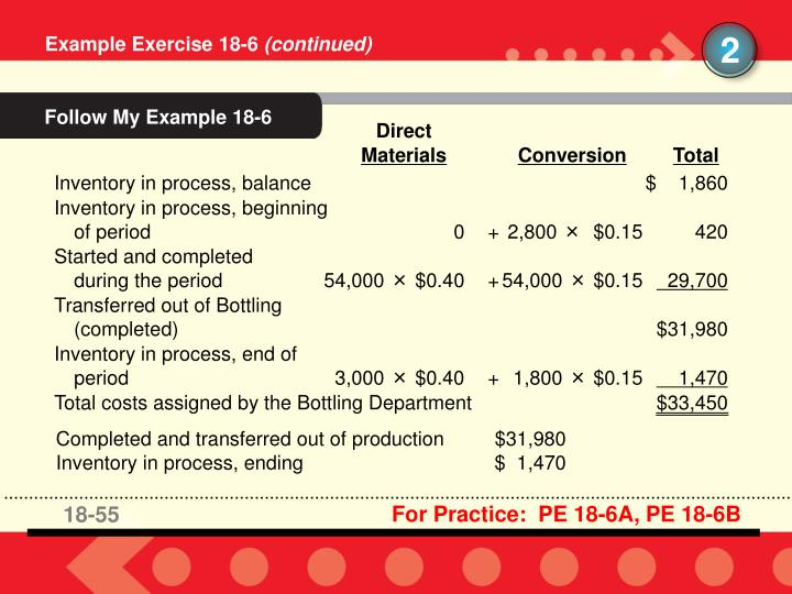 Follow My Example 18-6