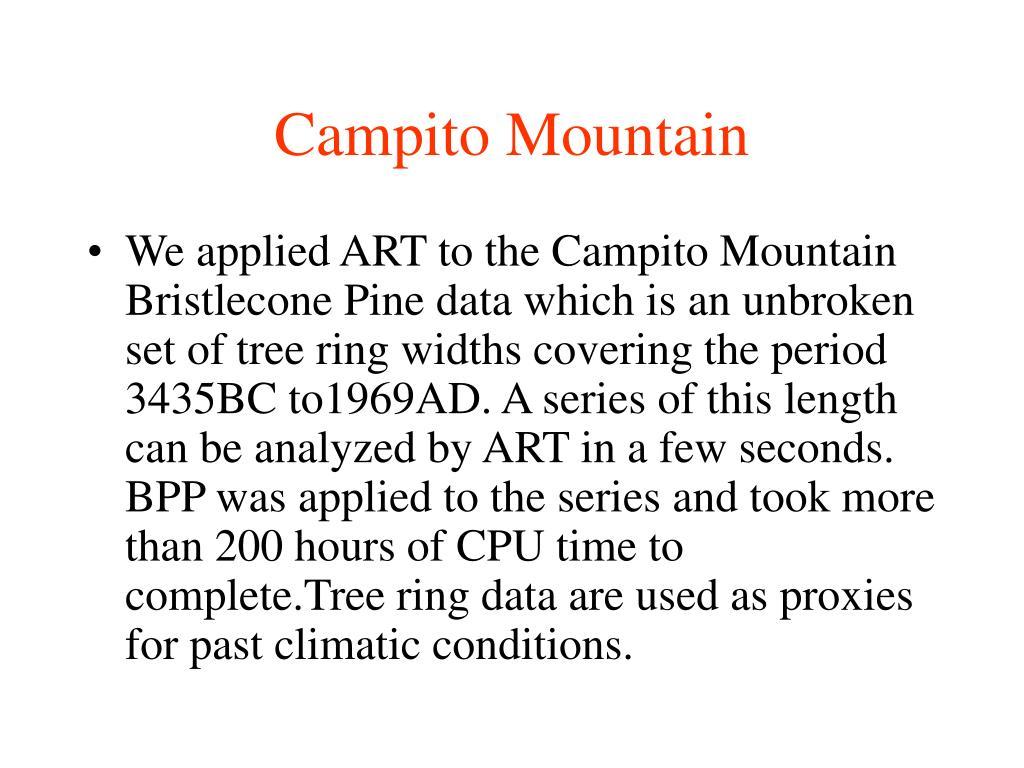Campito Mountain